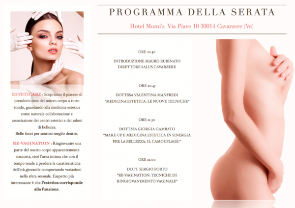 Medicina estetica: Cosmeticare e Re-vagination